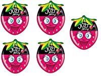 Alpenliebe Juzt Jelly Gift Pack, Strawberry, 121.6g (Pack of 5)