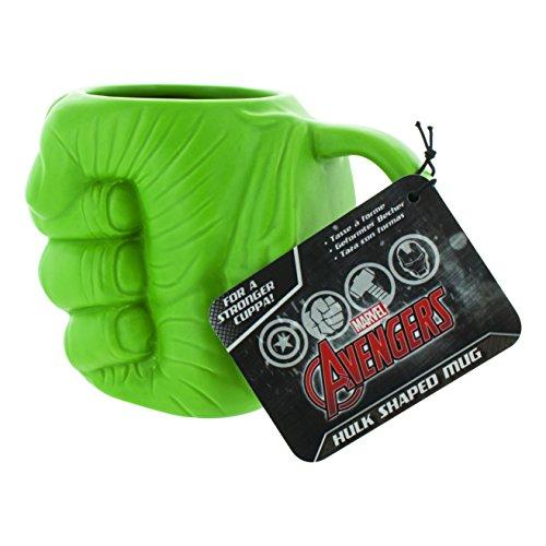 Image of Marvel Hulk Shaped Mug, Multi-Colour