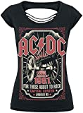 Photo de AC/DC About to Rock 1981 T-Shirt Manches Courtes Noir par Générique
