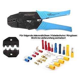 KFZ Crimp-Zange für isolierte Kabelschuhe robust LY-03C