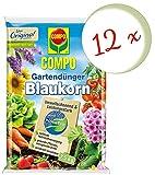 Oleanderhof® Sparset: 12 x COMPO Gartendünger Blaukorn® NovaTec®, 7,5 kg + gratis Oleanderhof Flyer