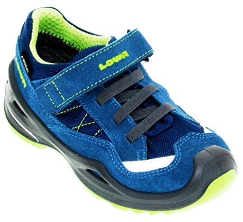 Lowa  Sneaker,  Scarpe da camminata ed escursionismo ragazzo Blau (blau/limone)