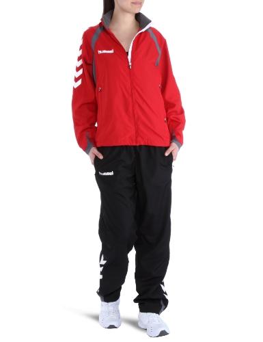Anzug Hummel (hummel Damen Trainingsanzug Team Spirit Micro Suit, rot / schwarz, XS, 54-167,)