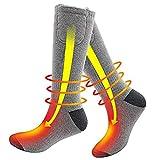 ZREAL 1 Paar Elektrische Batterie Beheizte Socken Füße Wärmer Heizung Eisfischen Socken