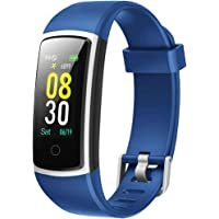 YAMAY Smartwatch Orologio Fitness Tracker Uomo Donna Pressione Sanguigna Smart Watch Cardiofrequenzimetro da Polso…