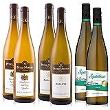 Peter Mertes Weinpaket 2x Auslese 2x Flonheimer Adelberg + 2x Wein Genuss Rheinhessen Spätlese (6x0,75L)