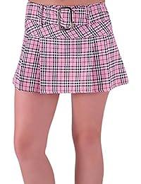 EyeCatchClothing - Megan Fashion Minirock Mini Rock mit Schottenmuster