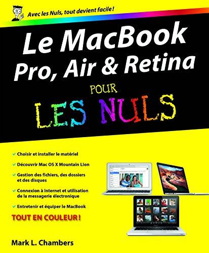 MacBook (Pro, Air et Retina) Pour les Nuls par Mark L Chambers