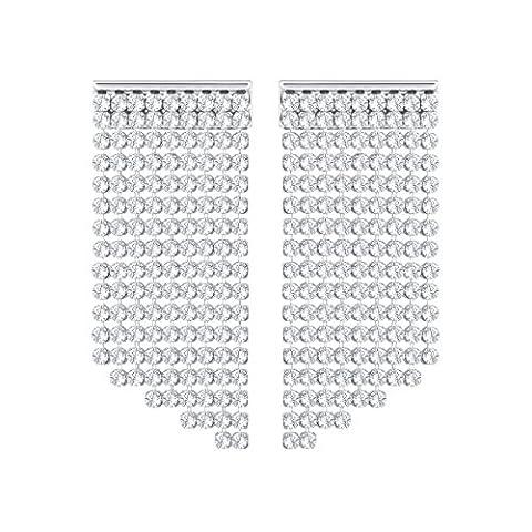 Swarovski Silver Fit Pierced Earrings