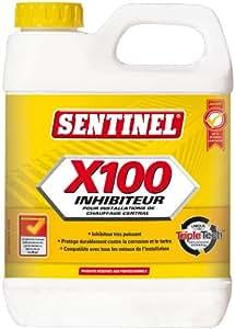 Inhibiteur De Corrosion Et D'Entartrage Sentinel/Bidon de 1 litre