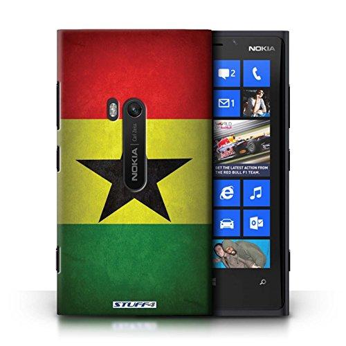 Coque en plastique pour Nokia Lumia 920 Collection Drapeau - Suisse Ghana