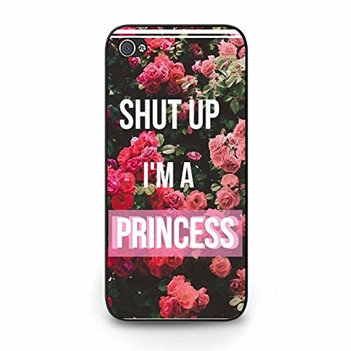 Iphone 5c Case,Stylish Solid Princess Phone Case Cover for Iphone 5c Best Friends Shell Cover Color180d