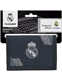 Safta Real Madrid 2 Monedero 13 cm, Azul