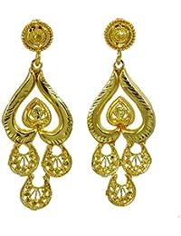 123e32736bb8 Banithani Hilo de Seda Dorado brazaletes envueltos bisutería Indio 2   4 ·  EUR 6
