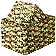 xmz Parfait para N 'importe quel prix (cámara niños, diseño de dormitorio, sala de estar) de las cajas de almacenamiento de baúles de almacenamiento (ratán 27* 20* 16cm