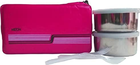 Milton Insulated 2 Stainless Steel Container Lunch Box