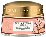Forest Essentials Sandalwood and Saffron Night Treatment Cream, 50g