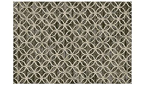 Tapis style moderne marron beige Optical Laguna 63396–8393Tapis design sitap cm.200x290 LAGUNA 63396-8393
