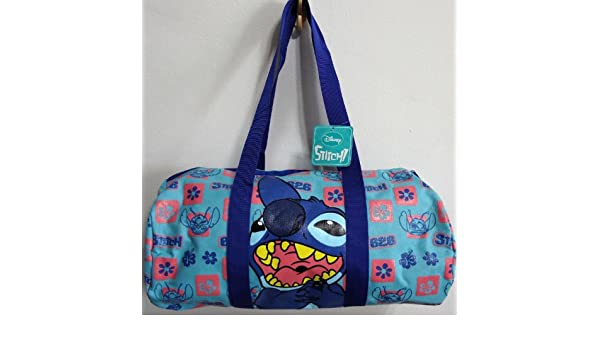 Disney Lilo and Stitch Duffle Kit Gear Gym Sports Travel Holdall Backpack  Rucksack School Gear PE Fitness Exercise Bag Girls Womens Ladies Bags  ... 559bd148d8c40