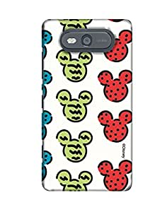 Pick Pattern with Exclusive DISNEY Characters Back Cover for Nokia Lumia 820