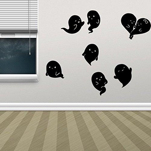 Kostüm Material Mumie Verpackung - MSSJ 2516 Halloween Teufel Wohnzimmer Schlafzimmer Dekoration Entfernbare Wandaufkleber