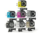 Pro Cam Sport Action Camera FULL HD 1080p 12MP Videocamera GO