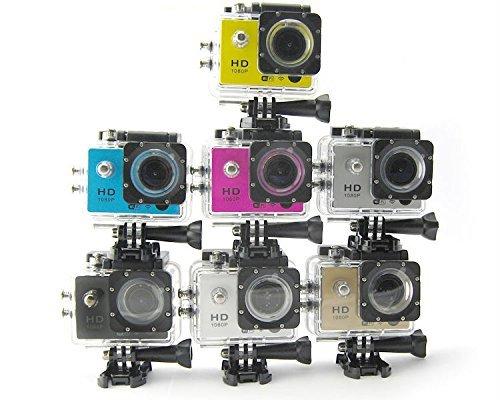 Pro Cam Sport Action Camera FULL HD 1080p 12MP Videocamera GO