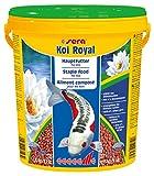 Sera - Koi Royal HF medium - Nourriture pour poissons - Carpes koï - 1 x 20 l