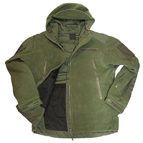 Tactical Mountain giacca in pile-Cacciatore giacca Windbreaker Survival Outdoor Abbigliamento armardi Army Seals autunno inverno multi funzione Alfa camicia # 19087 oliva XXL