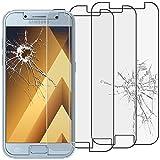 ebestStar - Compatible [Lote de 3] Cristal Templado Samsung A5 2017 Galaxy SM-A520F Protector de Pantalla, Película Vidrio Protectora Ultrafina, Dureza 9H, Sin-Burbujas [Aparato: 145x71x7.8mm 5.2']