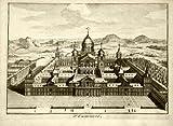diseño de madera envejecida ThePrintsCollector - El Escorial-Madrid-España - 1705