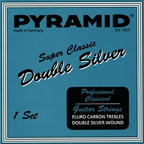 Pyramid Super Classic Double Silver Carbon Hard Tension Saiten für Akustikgitarre