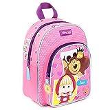 Vadobag Backpack | 31 x 25 cm | Masha and the Bear | Masha and The Bear | Children Girl Bag