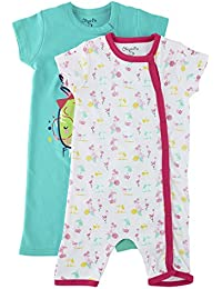 Chirpie Pie By Pantaloons Baby Girls' Regular Fit Sleepsuit