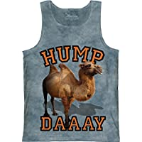 Cascade Hump Daay Adult Unisex Camel Tank Top The Mountain
