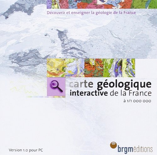 carte-gologique-interactive-de-la-france--1-1-000-000-cd-rom-version-1-0