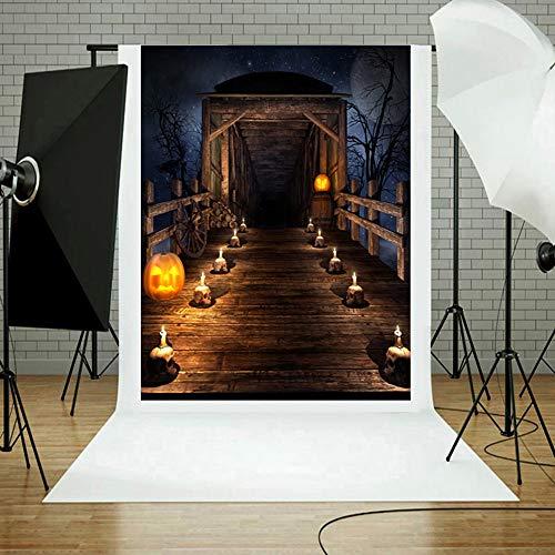 XINAINI Studiotuch 3D KüRbis Vinyl Waschbar Tuch Fotografie Hintergrund Neugeborenen Pet Werbung Fotografie Mauer Halloween Fotografie -