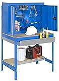 Simonrack - Kit banco trabajo bt-7 box 900 azul madera