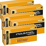 Duracell, Procell Industrial MN2400 Alkaline AAA Ersatzbatterien LR04, 50 Stück