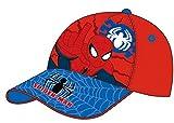 Spiderman Cap Kappe rot SM7429