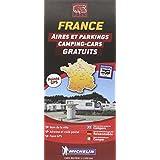 Carte des aires gratuites France