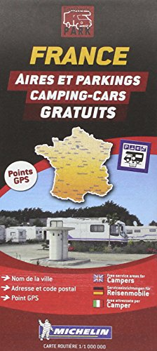Carte des aires gratuites France par Michelin