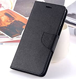Gretel Gretel Gretel/S55/GT6000 Compatible Protective Case A6 Book Format, with Magnetic Flap (Black) Inner Rubber Gel TPU Soft Silicone Case (Black) (Fits All Models Listed)
