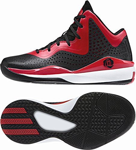 Adidas Performance di rosa 7733Nero, scarpe da basket unisex Nero