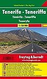 Freytag Berndt Autokarten, Teneriffa, Island Pocket + The Big Five, wasserfest - Maßstab 1:150 000 - Freytag-Berndt und Artaria KG