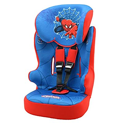 Car seat DISNEY Group 1/2/3 From 9 to 36kg - Made in France - 7 Characters -Tested and certified European standard ECE R44 / 04