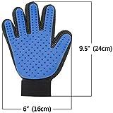 Pet Badebürste Handschuh Silikon True Touch Fellpflegekamm Haar Bereinigung