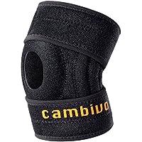 CAMBIVO Kniebandage/Knieschoner/Knieschützer/Kniestütze, offene Patella/Kniescheibe-Strumpf für Meniskusriss,... preisvergleich bei billige-tabletten.eu