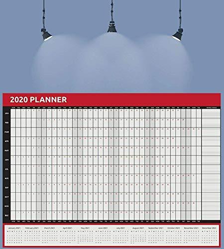 2019 2020 Kalender A2 Jahresplaner Aug bis Aug Akademisches Zuhause Büro Arbeit Student Familienkalender Jungen Mädchen Kinder & Kinder Home & Office
