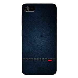 cheaper 2d357 8399e CrazyInk 3D Back Cover for Lenovo Zuk Z2 Plus - Blue Leather Texture  CILZZ2PB059